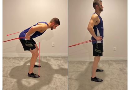 Banded Standing Hip Thrust