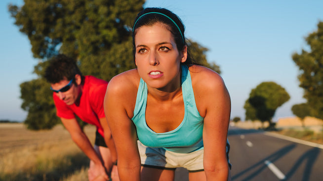 blood taste in mouth during exercise