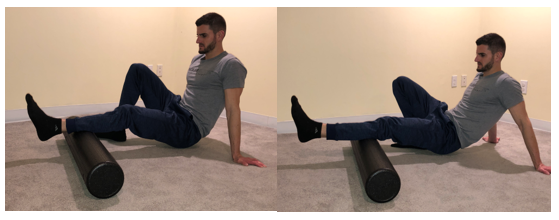 Foam Rolling Gastrocnemius and Soleus