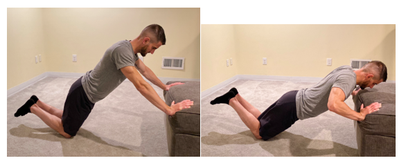 Modified Incline Push Up