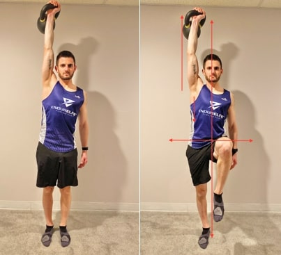 Overhead Weighted Hold with March