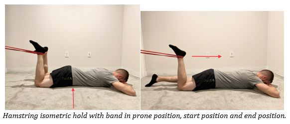 Prone Hamstring Isometric Hold