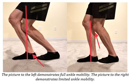 ankle mobility test