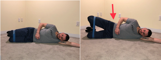 clam shell exercise for hips