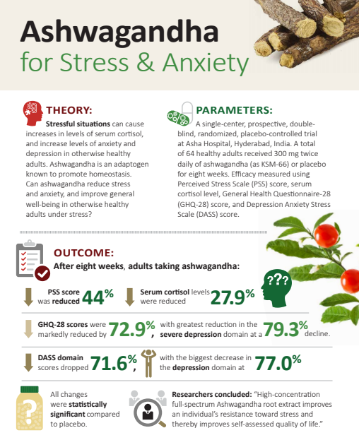ashwagandha for stress and anxiety