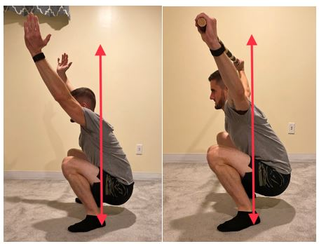 proper depth squat form