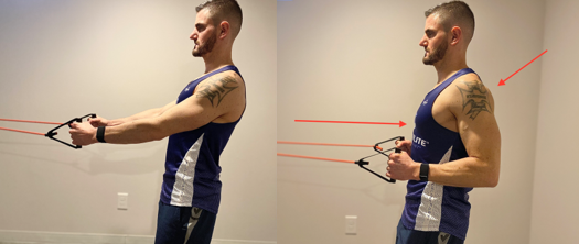 row exercise to correct bad posture