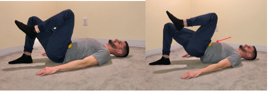 single leg bridge exercise for hip