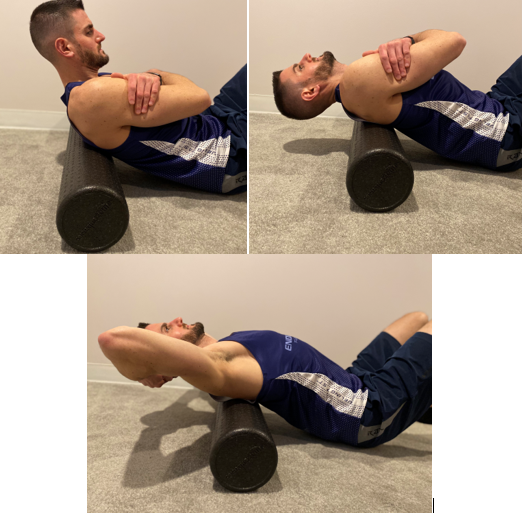 thoracic Foam Roller Extensions