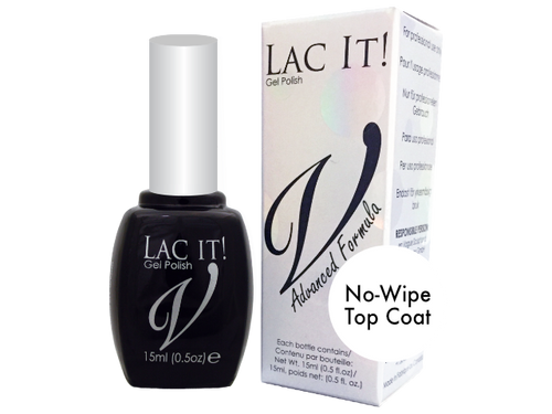 Lac It! No Wipe Top Coat