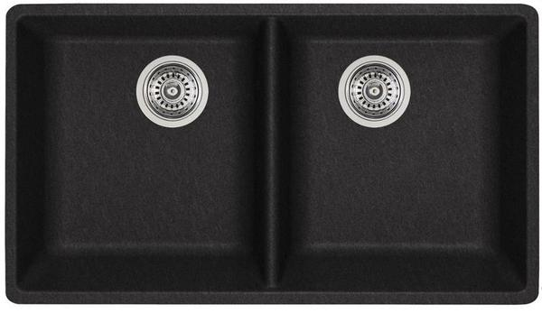 Blanco 401267- Blanco Horizon U 2 Undermount Kitchen Sink, 2 Bowls, Granite, Anthracite