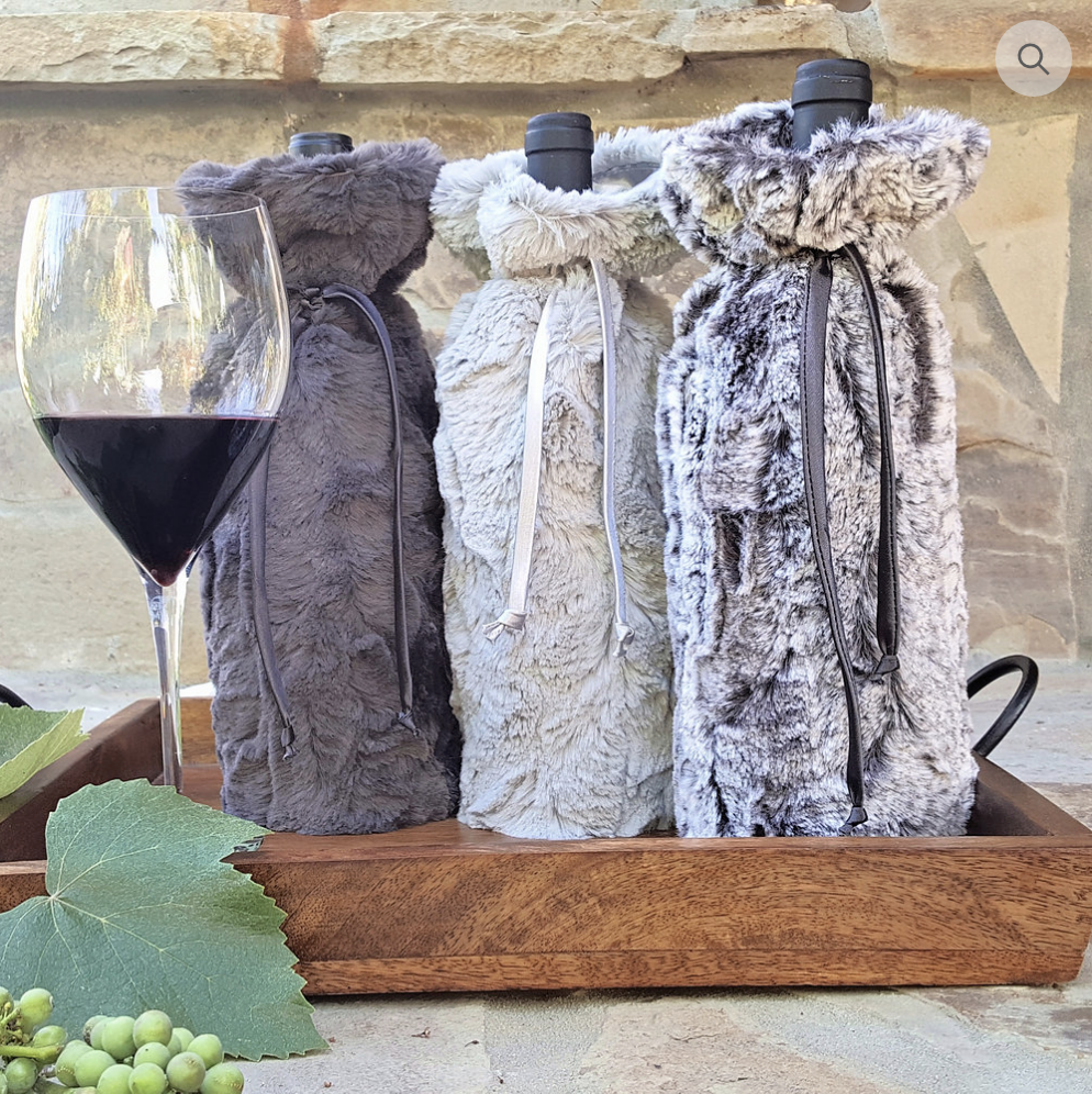 Ultra Plush Wine Sleeve