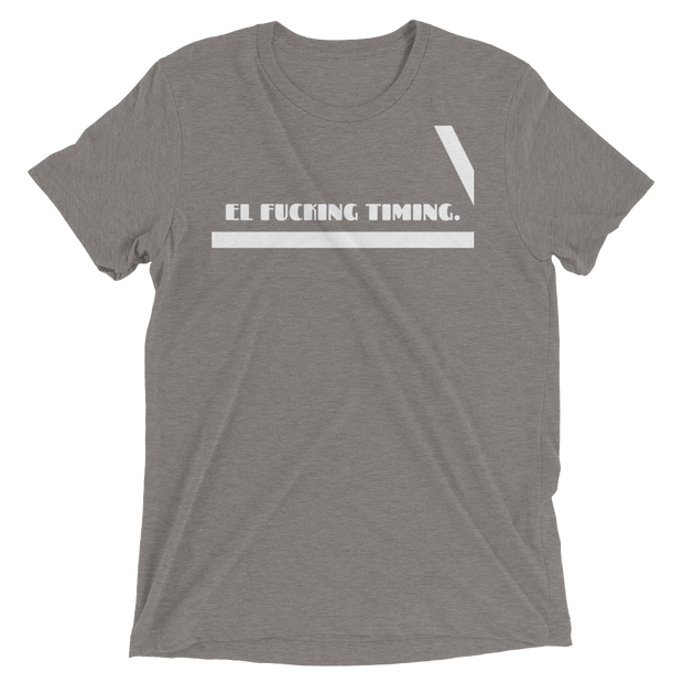 "Men's ""Timing"" Short Sleeve T-shirt in Grey Tri-blend by Mercer + Westwood-Mercer + Westwood-XS-Mercer + Westwood"