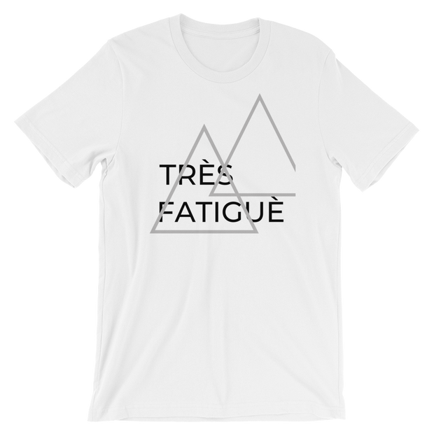 "Women's ""Très Fatiguè"" Short-Sleeve T-Shirt in White by Mercer + Westwood-Mercer + Westwood-S-Mercer + Westwood"