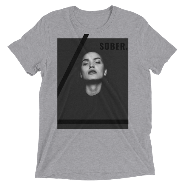 "Men's ""Sober"" Short Sleeve T-shirt in Tri-blend by Mercer + Westwood"