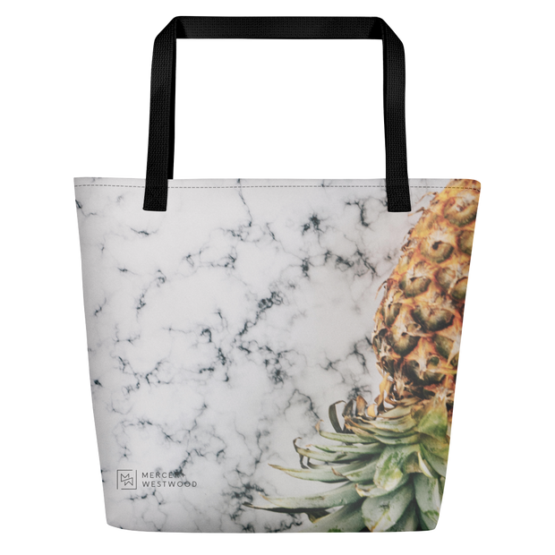 "Beach Bag ""Fit Pineapple"" by Mercer + Westwood-Mercer + Westwood-Mercer + Westwood"