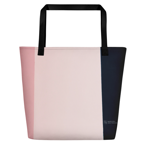 "Beach Bag ""Pastel Colors"" by Mercer + Westwood-Mercer + Westwood-Mercer + Westwood"