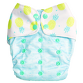 Pina Colada (Pineapple) - Bouncing Peaches Cloth Diapers India