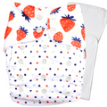 BerryLicious (Strawberry) - Bouncing Peaches Cloth Diapers India