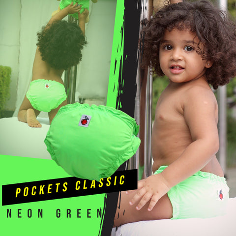 Neon Green - Pockets