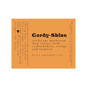 Cordy Shine Label