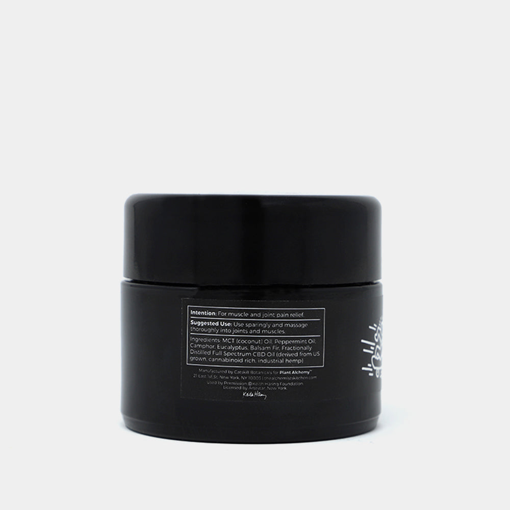 Keith Haring CBD Balm Medium Back