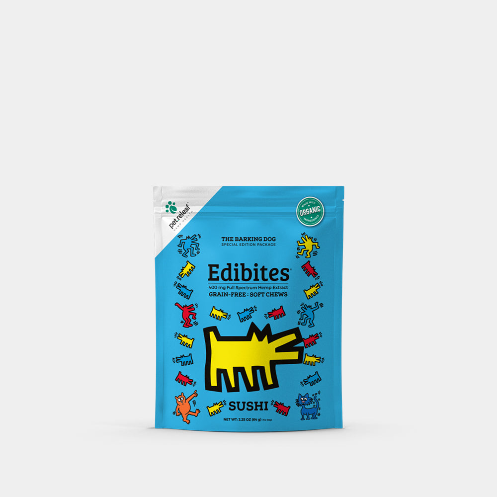 Keith Haring Pet CBD Soft Chews - Trial - Sushi