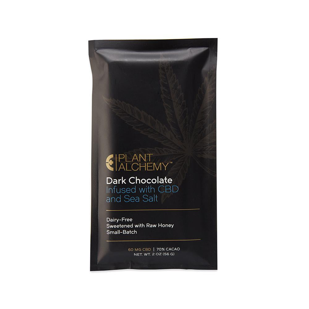 CBD Dark Chocolate Bar- 60 mg