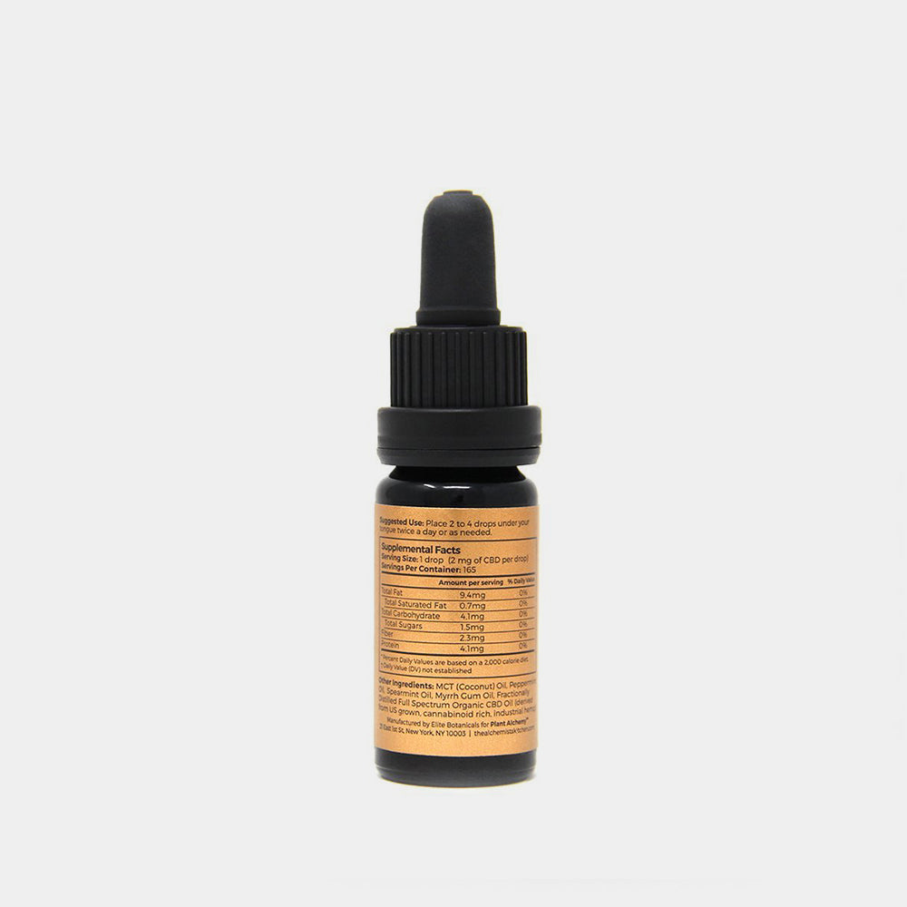 Plant Alchemy CBD Oil 330 MG Ingredients