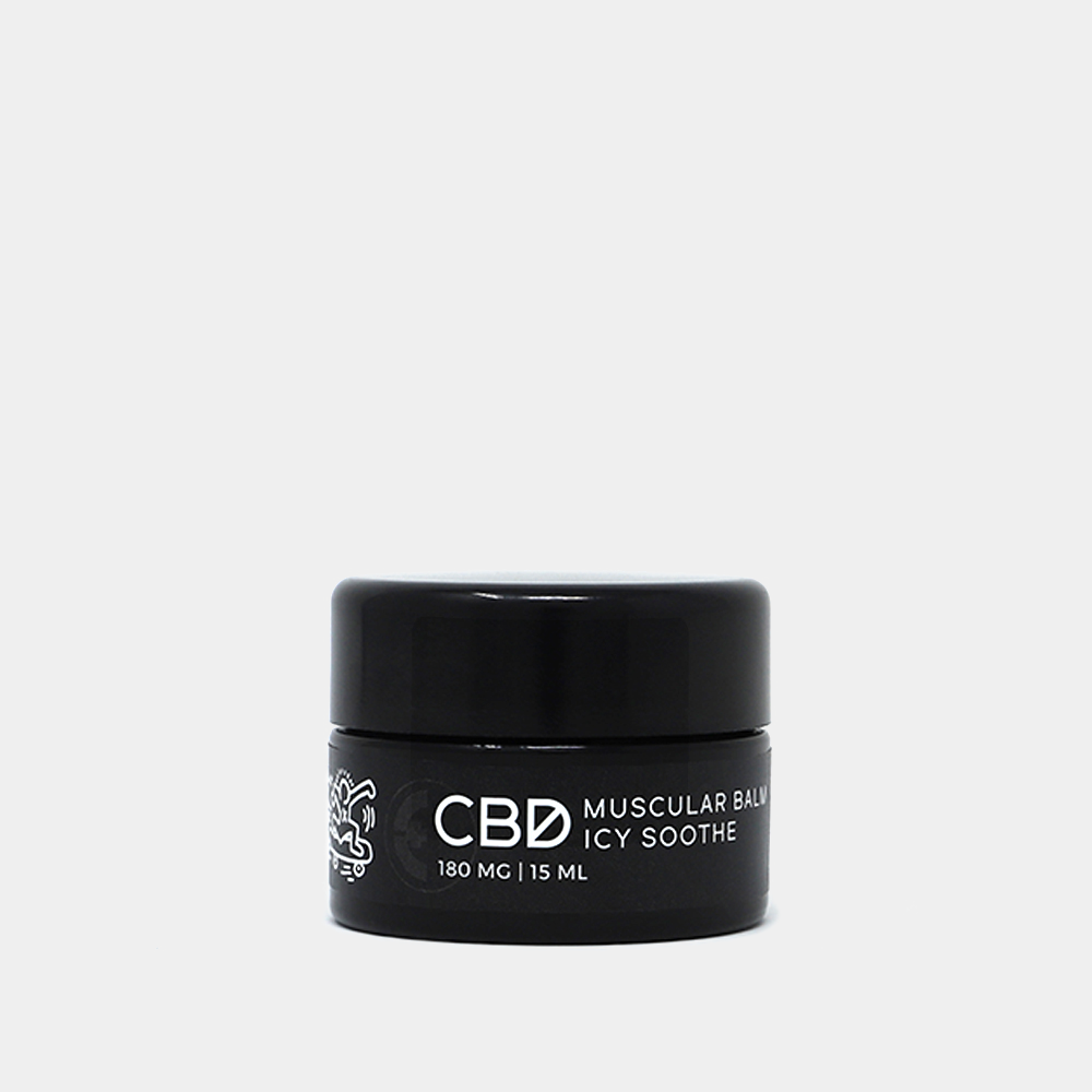 CBD Icy Soothe Topical Balm- 180 mg