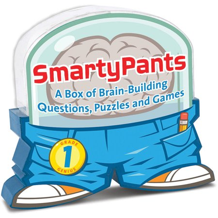 Jeu Smarty Pants Grade 1 ere année Quiz English Brain game Melissa and Doug