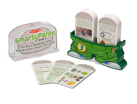 Jeu Smarty Pants Éducatif Grade 3 e Année English Brain Game Melissa and Doug