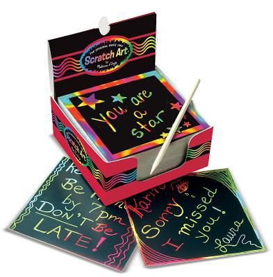 Mini Notes Scratch Art Arc-en-Ciel Melissa & Doug 5945