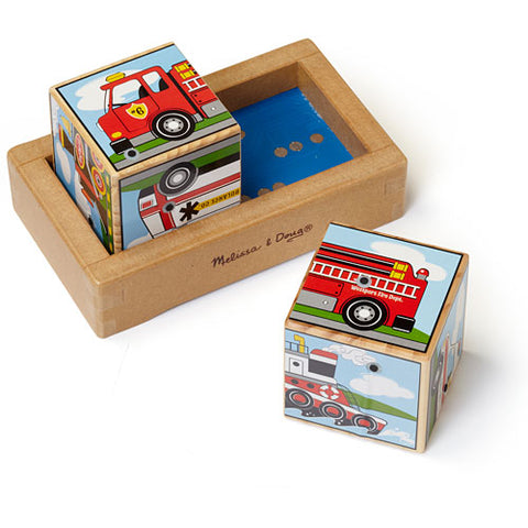 Blocs de sons Puzzle Transport - Melissa & Doug