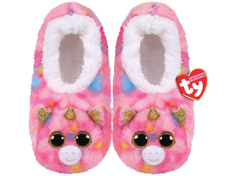 TY Pantoufles Fashion Slipper Socks Small Fantasia