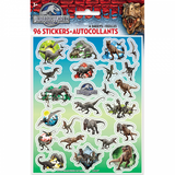 Jurassic World Dinosaures 96 autocollants Stickers