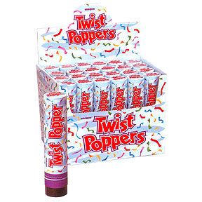 Twist Popper confettis surprise