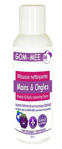 Gom-mee Mousse nettoyante mains et ongles avec lime