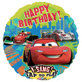 Singsing Balloon Disney Cars 3 messages 28 pouces