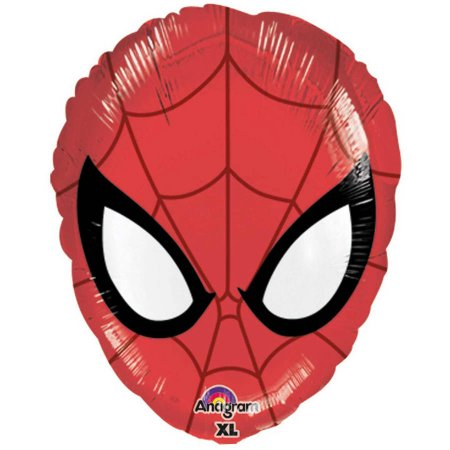 Ballon Tête Spiderman - Hélium inclut