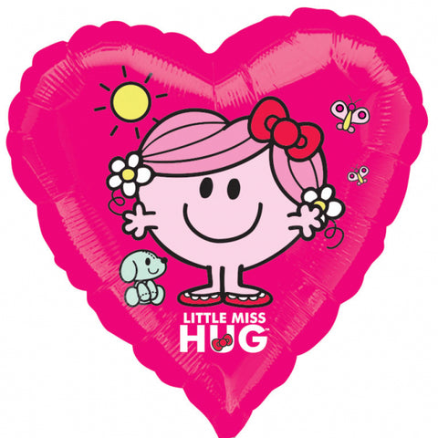 Ballon Coeur madame little miss hug