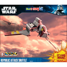 Vaisseau Star Wars republic attack shuttle - Revell Snap Tite