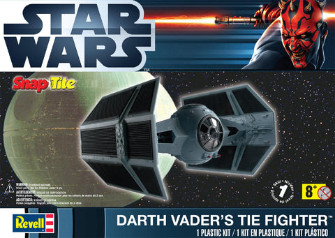 Starwars Darth Vader tie fighter - Revell Snap Tite