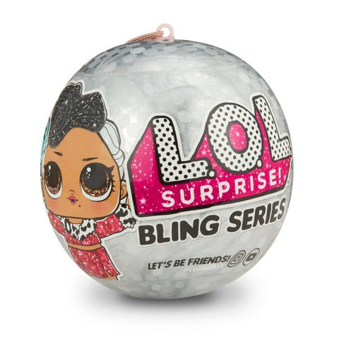 Poupée L.O.L. Surprise Bling series Glitz MGA entertainment - La Boîte à Surprises de Nicolas à St-Sauveur
