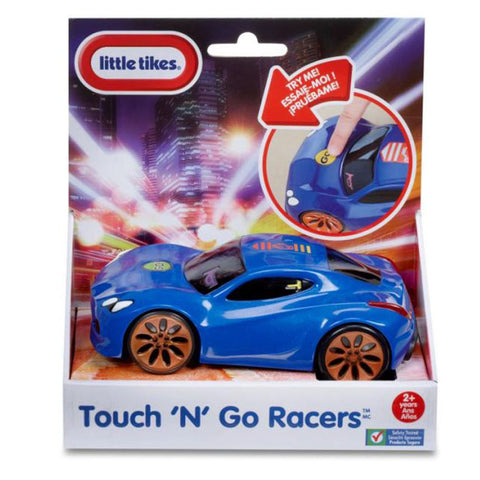 Little Tikes Touch n racers Voiture bleue