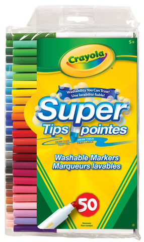 Crayons marqueurs lavables 50x - Crayola