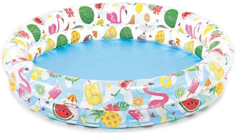 Piscine gonflable 48 pouces X 10 pouces fruits