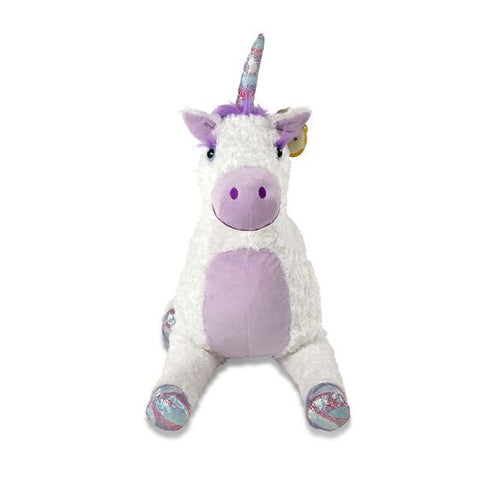 Peluche Jumbo Licorne douce 26X42 pouces 30405 Melissa and Doug