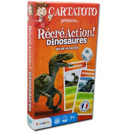 Cartatoto Récréaction dinosaures