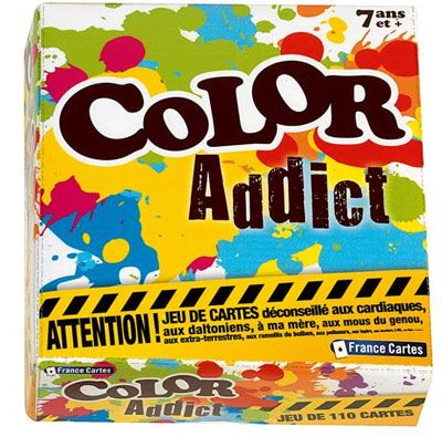 Jeu Color Addict - France Cartes